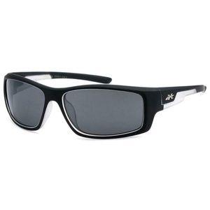 X-Loop Men's Sport Polycarbonate Wrap Sunglasses